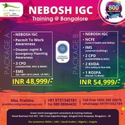 Join Nebosh IGC Course in Bangalore with Free 6 Intnl HSE Course