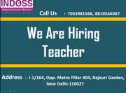 Urgent hiring for Teachers